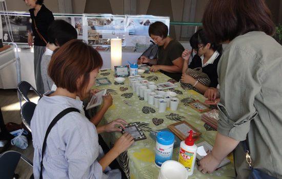 インテリアデザイン2016(秋田公立美術大学祭に参加)